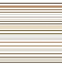 Stripe brown seamless pattern vector image vector image