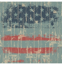 usa flag themed background vector image vector image