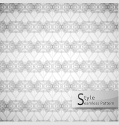 abstract seamless pattern mesh rope ribbon white vector image vector image