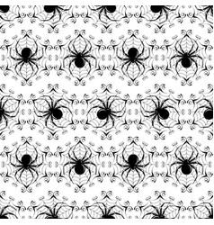 Halloween seamless vector image