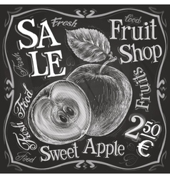 apple pomegranate logo design template vector image vector image