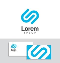 logo design element 31 vector image vector image