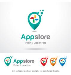 App store logo template vector