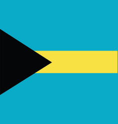 bahamas flag for independence day and infographic vector image