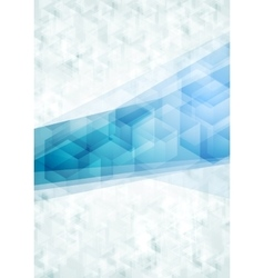 Concept abstract tech background vector