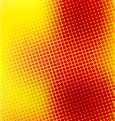 creative random halftone background vector image