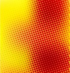 Creative random halftone background vector