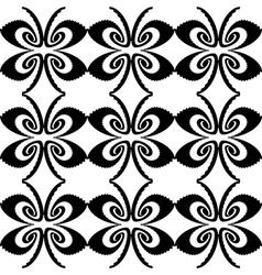 Design seamless decorative butterfly pattern vector