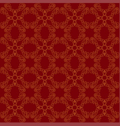 seamless abstract vintage dark red pattern vector image