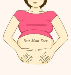 mom08 vector image vector image