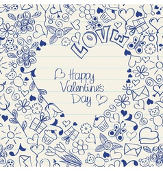 valentines03 vector image vector image