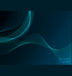 blue energy space light concept abstract vector image
