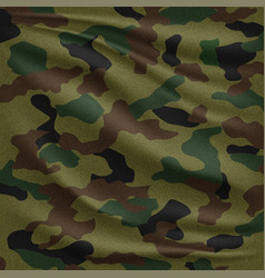 camouflage texture background vector image