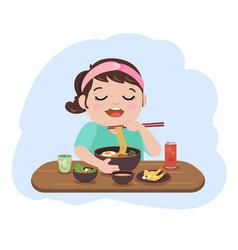 eat vector image