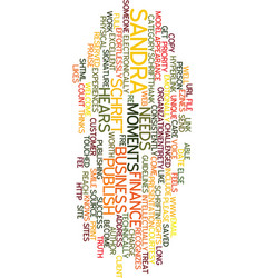 Moments of truth text background word cloud vector