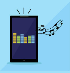 phone series music player vector image