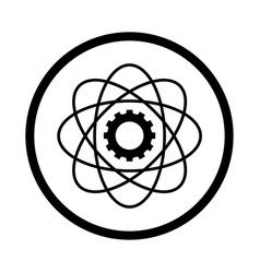Science icon - iconic design vector