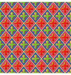 sweet retro seamless pattern vector image