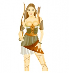 archer vector image vector image
