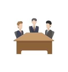 Business negotiations icon cartoon style vector image vector image