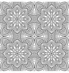 abstract filigree pattern vector image