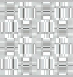 Abstract geometric seamless pattern square stripe vector