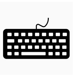 Computer keyboard keyboard accessories typing vector