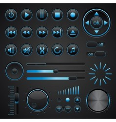 Control panel vector image