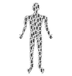 Death scytheman man figure vector