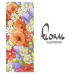 Inspiring flowers vector