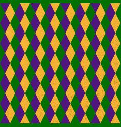 mardi grass seamless pattern vector image