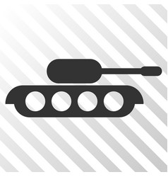 military tank eps icon vector image