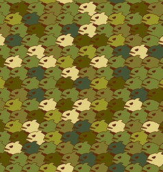 Military texture from Piranha Army seamless vector