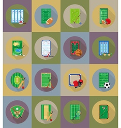 Sport flat icons 79 vector