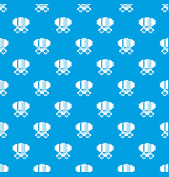 Waggon storage tank with oil pattern seamless blue vector
