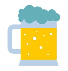 mug of beer icon isolated vector image