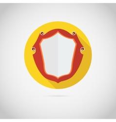 Vintage shield icon vector image vector image