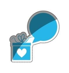 Romantic heart concept vector