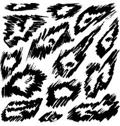 animal background leopard or cheetah or jaguar vector image