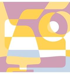background for menu silhouette glasses cognac vector image
