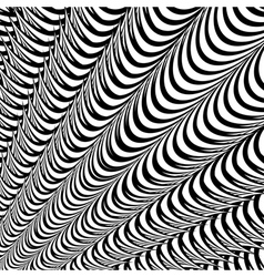 Design abstract striped lines background vector image