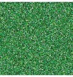 Glitter green seamless texture vector image
