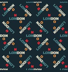 London creative pattern vector