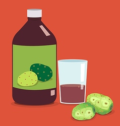 Noni juice vector