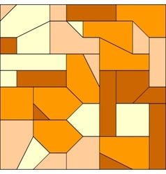 pattern with decorative geometric vector image