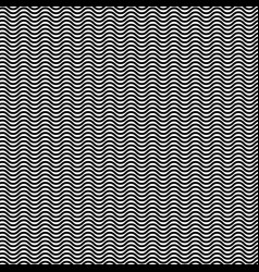 wavy zigzag lines seamless pattern distorted vector image