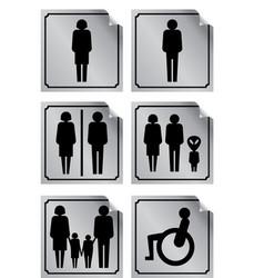 Wc toilette vector