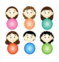 Cute cartoon vector image vector image