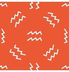 Orange aquarius pattern vector