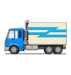 Truck cartoon vector